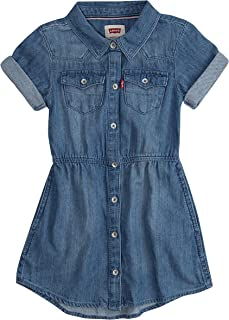 Girls' Short Sleeve Western Dress