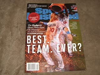 Sports Illustrated August 28 2017 LA Dodgers Best Team Ever?