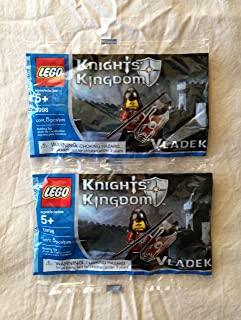 Lego Knights Kingdom Mini Figure Set #5998 Vladek