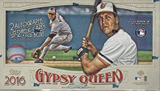 2016 topps gypsy queen hobby box