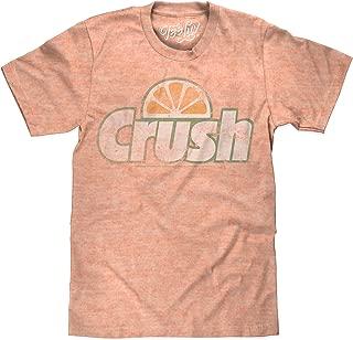 Orange Crush Big and Tall T-Shirt - Crush Soda Logo Graphic Tee Shirt