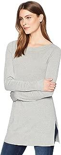 Amazon Brand - Lark & Ro Women's Boatneck Tunic Sweater