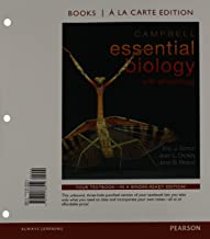 Campbell Essential Biology with Physiology, Books a la Carte Plus MasteringBiology -- Access Card Package (4th Edition)