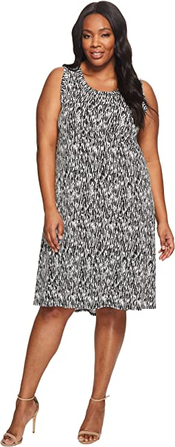 Plus Size Hi Lo Hem Dress