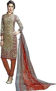 Minu salwar Cotton Printed Suit sets Multi(Vasundhara_16013)