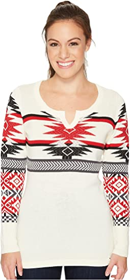 Woolrich - Avalanche Split Neck Sweater