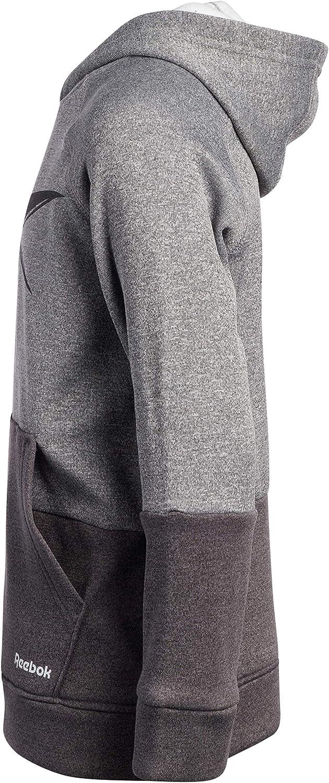 Reebok Boys' Sweatshirt - Athletic Pullover Sports Hoodie