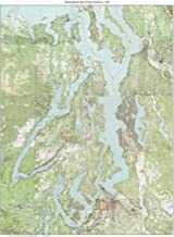 Puget Sound - ca. 1940 - USGS Old Topographic Map Custom Composite Washington