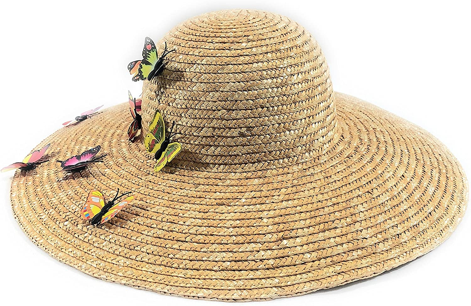 August HAT Company Large Straw Hat