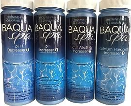 Baqua Spa Water Balancers with 3 Insparation 1/2 oz Sampler Packs