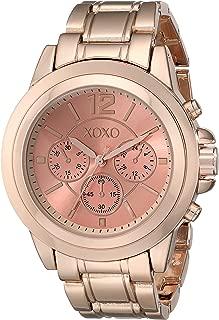 XOXO Women's XO5591 Rose Gold-Tone Bracelet Watch