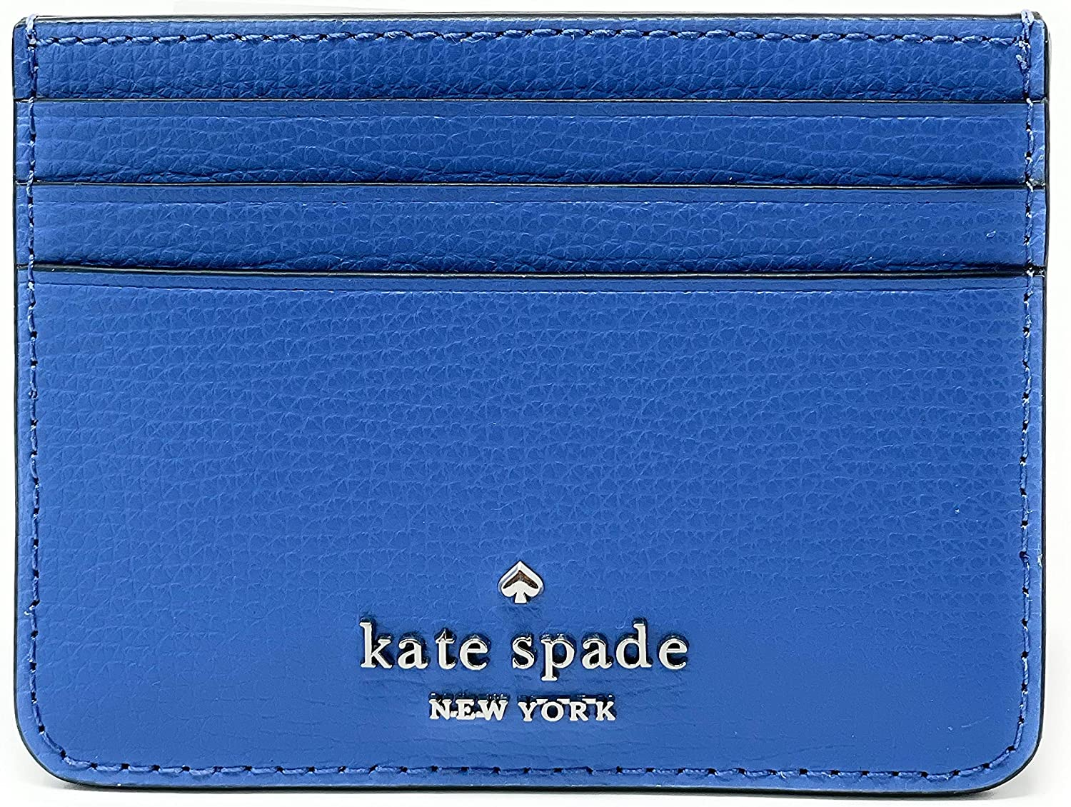 Kate Spade Darcy Small Slim Superior Card Holder Wallet Case famous Cornflo Deep