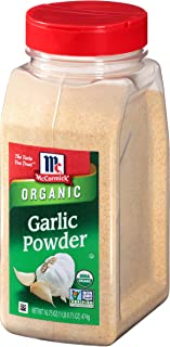 McCormick Organic Garlic Powder, 16.75 oz
