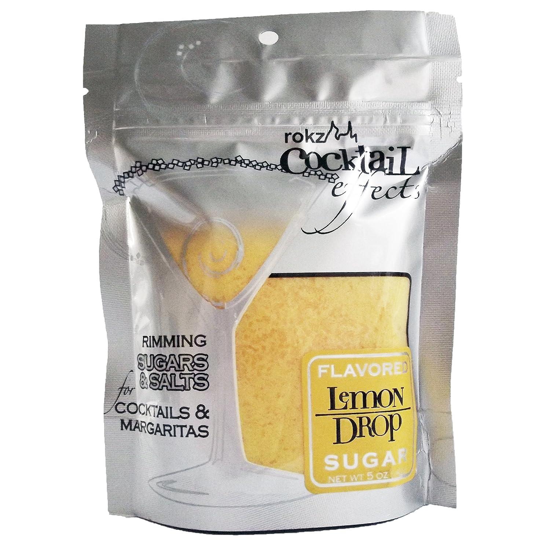 Rokz Lemon Drop Cocktail Sugar, 5 Ounce
