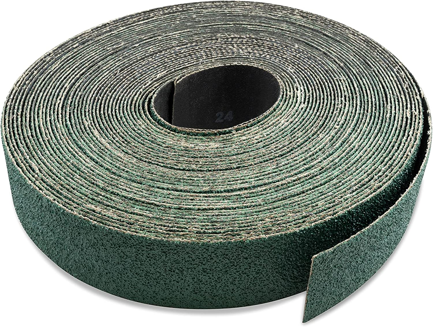 Cut to Length Red Label Abrasives 3 Inch X 70 FT 100 Grit Woodworking Drum Sander Strip Roll