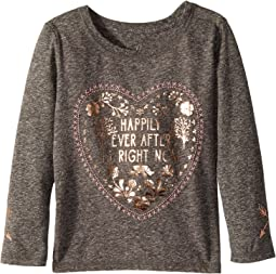 PEEK - Happily Ever After Long Sleeve Tee (Toddler/Little Kids/Big Kids)