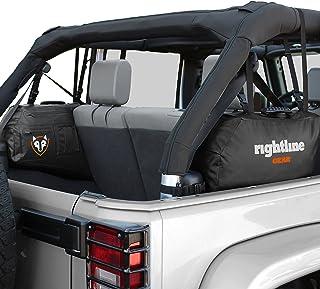 Rightline Gear 100J75-B Jeep Wrangler Side Storage Bags, Black - Set of (2)