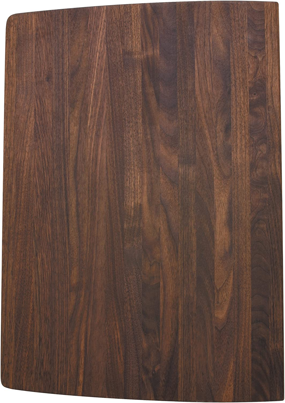 whiteo 222591 Wood Cutting Board, Fits Performa Silgranit II Super Single Bowl, Walnut