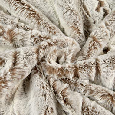 Shannon Minky Luxe Cuddle Whistler Almond Fabric by the Yard