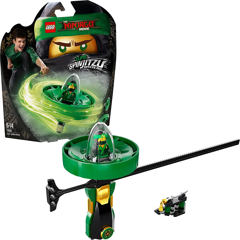 The Lego Ninjago Movie Spinjitzu-meester Lloyd 70628 Cool kinderspeelgoed