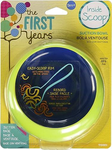 venta con descuento The First Years Inside Scoop Suction Bowl, azul by by by The First Years  marca en liquidación de venta