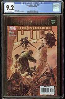 Planet Hulk Incredible Hulk #96 CGC 9.2 White Pages 2042653007