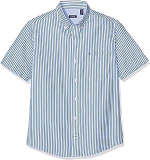 b3eb14df29 Izod Men's Seersucker Stripe Bd Ss Shirt Casual
