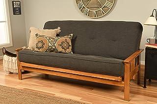 Kodiak Furniture Linen Charcoal Full-size Futon Mattress Only