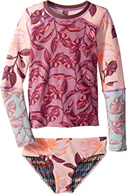 Maaji Kids - Temple of Joy Rashguard Swim Set (Toddler/Little Kids/Big Kids)