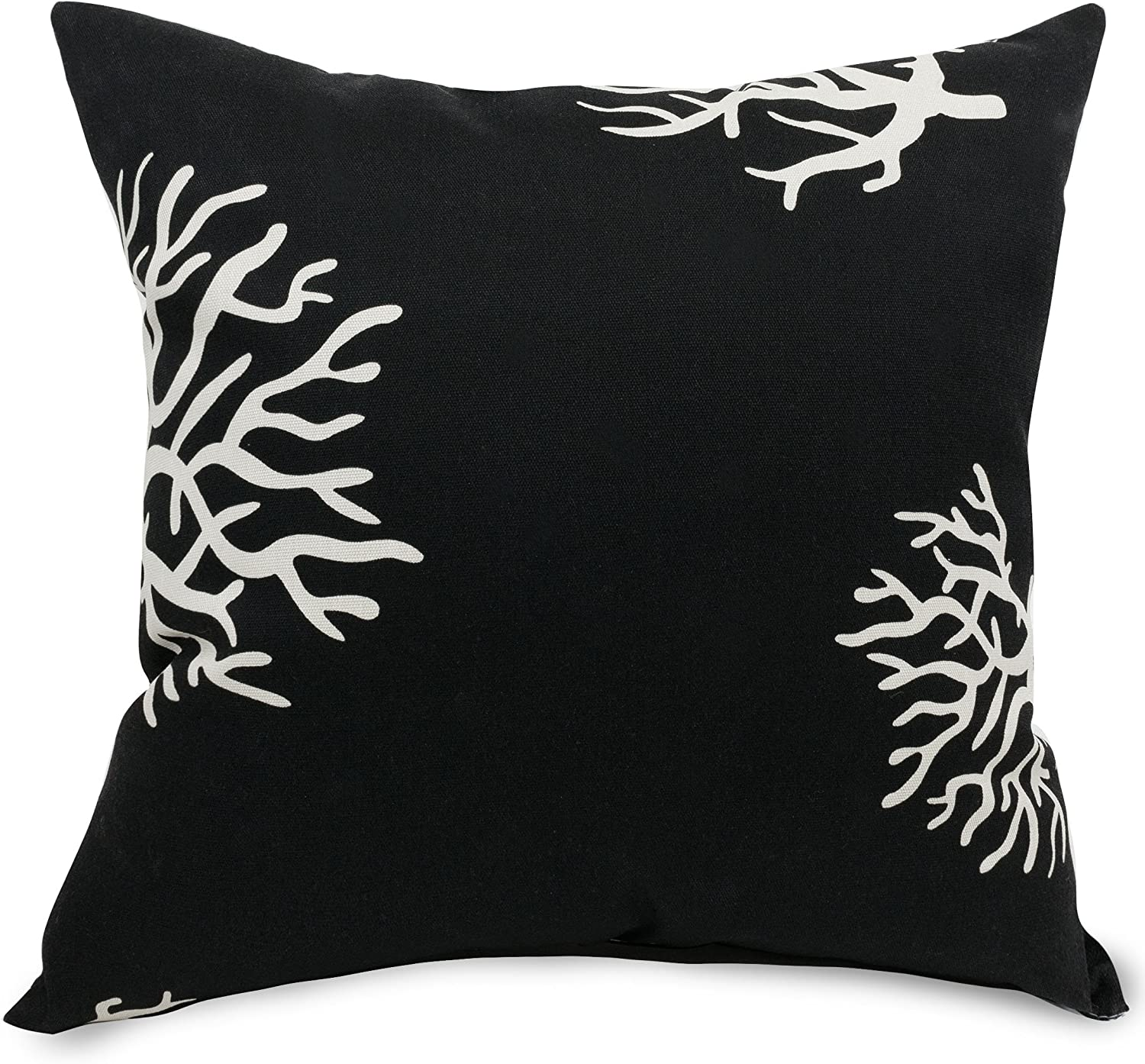 Majestic Home Goods Black Coral Extra Large Pillow