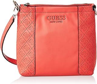 Guess Womens Cross-Body Handbag, Coral - SG766973