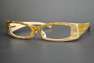 竹製めがねフレーム Z-944F(DOKUSOU TIKUHOU)【ルーツ】【鯖江産】【木のめがね】【竹めがね】【日本製】【Hand made in Japan】【Bamboo Glasses】【wooden eyewear】
