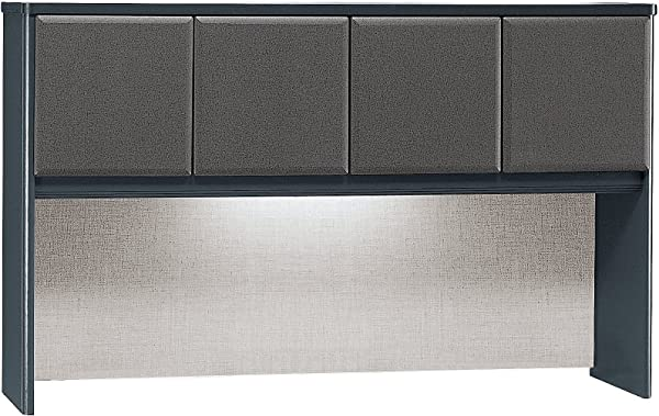 Bush Business Furniture Series A Collection 60W Hutch In Slate
