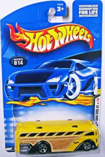 2001 First Editions #2 Surfin' School Bus #2001-14 Collectible Collector Car Mattel Hot Wheels