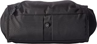 Victorinox Lumbar Pack Waist Tote with RFID Protection, Black/Black Log