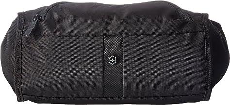 Victorinox Lumbar Pack Riñonera con protección RFID, Riñonera lumbar con protección Rfid, Negro/Negro Log, 15.24 cm