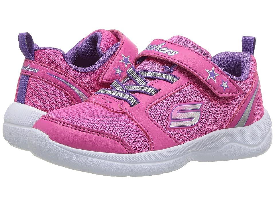 SKECHERS KIDS Skech Stepz 2.0 (Toddler/Little Kid) (Hot Pink/Purple) Girls Shoes