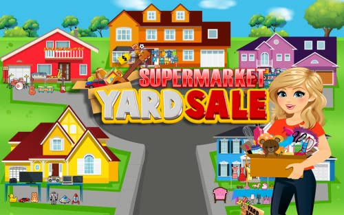 『Supermarket Yard Sale - Garage Sale Shoppers and Bargain Hunters FREE』の4枚目の画像