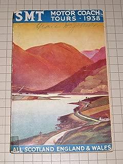 1938 SMT Motor Coach Tours: All Scotland,England & Wales