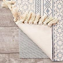 Nonslip Area Rug Gripper Pad for Hardwood Floors (White, 5 x 8 Feet)