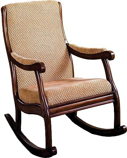 B07F3KT33B✅247SHOPATHOME IDF-AC6408 Rocking Chair Oak