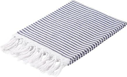 b15c7924bd CACALA Marin Series - Turkish Bath Towels - Traditional Peshtemal Design  for Bathrooms