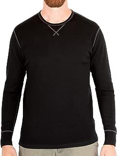 Mens Base Layer 100% Merino Wool Heavyweight 400g Thermal Shirt for Men