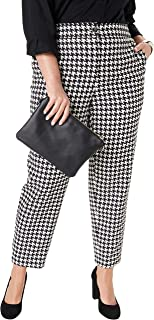 Best houndstooth pants plus size Reviews