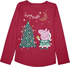 Jumping Beans Toddler Girls 2T-5T Peppa Decorating Tree Graphic Tee