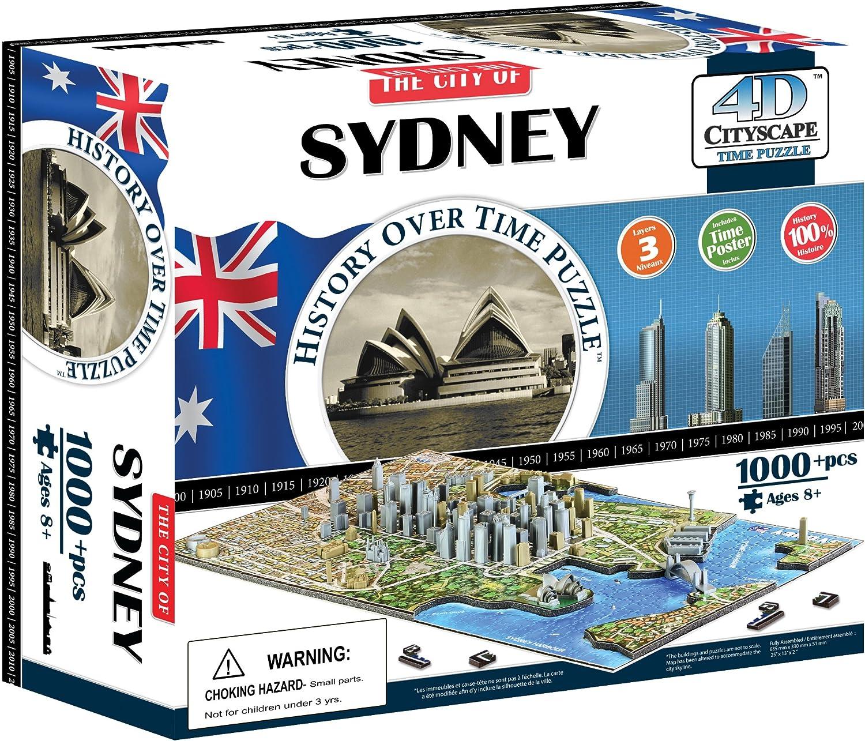 4D Cityscape 40032  Sydney, Australia Puzzle