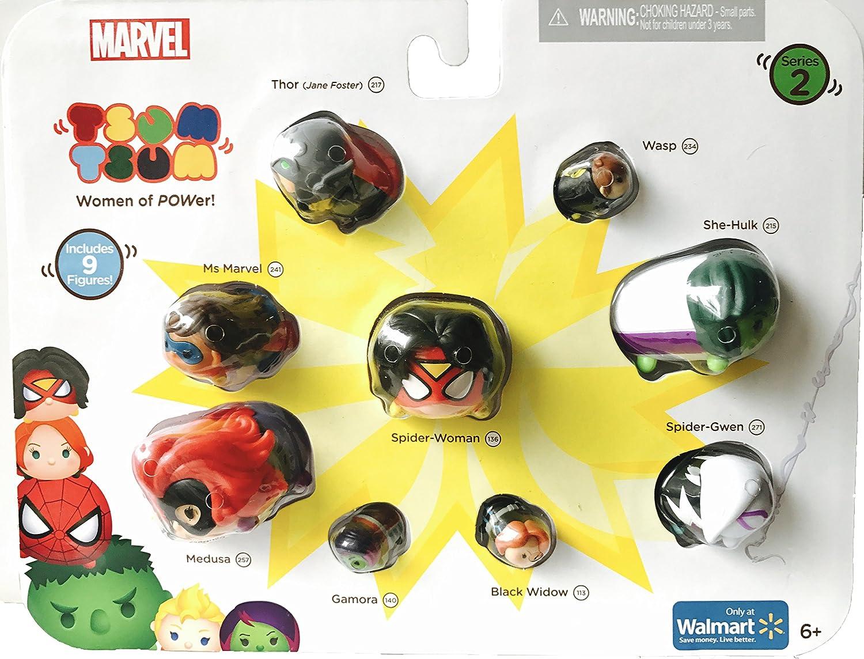Marvel Women Of Power Exclusive Tsum Tsum Series 2 Girl Spider