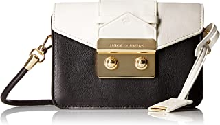 Juicy Couture Black Label Mini Crossbody Bag with Envelop Flap with Gold Latch with a Top Handle Option