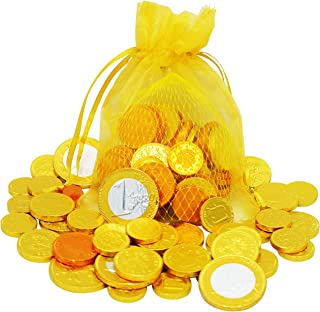 Hanukkah Chocolate - Chanukah Gelt - European Chocolate Coins - OU-D Kosher (Single)