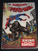 Amazing Spider-man #43 Silver Age Comic Book Rhino (AMAZING SPIDER-MAN, 1ST)